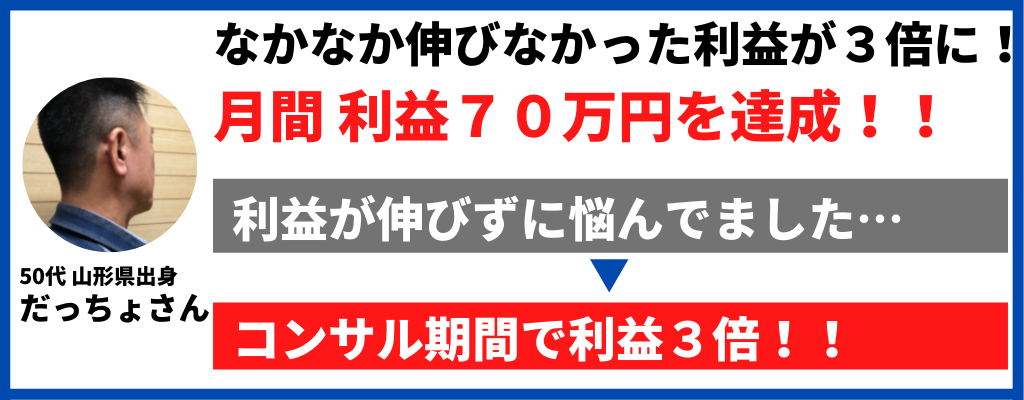 月間利益70万円!!記事LPのABテストで利益3倍に!!だっちょさんのヒーローインタビュー